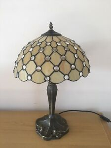 Tiffany Style Stained Glass Table Lamp Shade Beautiful Lighting Light Feature