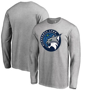 Minnesota Lynx Fanatics Branded Primary Logo Long Sleeve T-Shirt - Heathered
