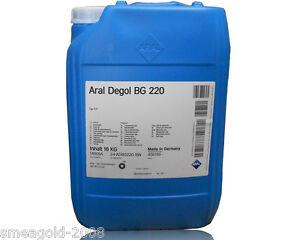 ARAL Degol Bg 220 20 Litre Seau Huile de Transmission Type CLP din 51 517-3
