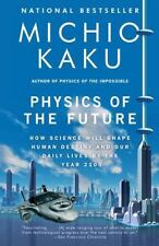 Physics of the Future Michio Kaku FREE SHIPPING paperback book Science in 2100!