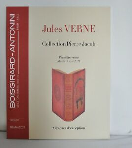 Jules Verne Hetzel - Catalogue De Vente Collection P. Jacob
