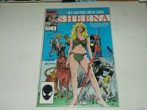 Sheena #1 Marvel Comic  1984 -NICE-LAST ONE