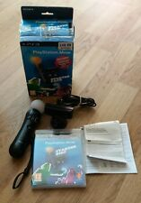 SONY PS3 PLAYSTATION MOVE STARTER PACK MOTION CONTROLLER EYE CAMERA DISC BOXED