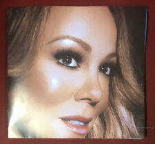 Mariah Carey Caution 2018 Taiwan Promo two-sides folded Poster