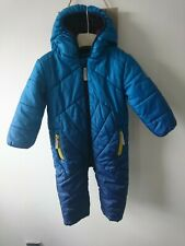 Baker baby boy snowsuit 12-18 months great condition