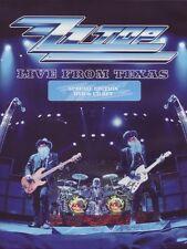 ZZ TOP - LIVE FROM TEXAS  DVD+CD NEU