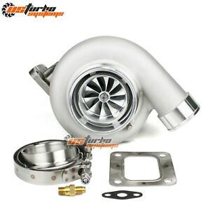 GEN II GTX3582R GTX35 Dual Ceramic Ball Bearing Turbo T4 0.82A/R Turbine Housing