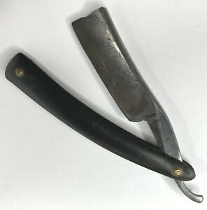 Vintage Wade & Butcher Straight Razor  Sheffield England With Case