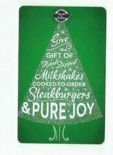 Steak 'n Shake Gift Card Christmas Tree - Restaurant - No Value - I Combine Ship