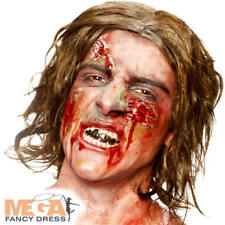 Horror Zombie Make Up Kit Fancy Dress Halloween Spooky Scar Wound Costume Set