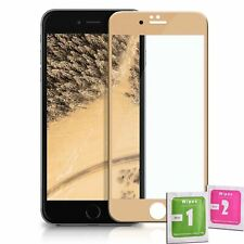 Tempered Glass LCD Screen Full Cover 4D For IPHONE 7 / 8 GOLD