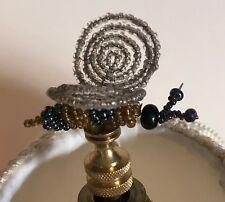 Beaded Bumble Bee Lamp Shade Finial