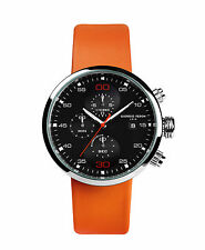 Giorgio Fedon 1919 SPEED TIMER II Silver/Orange Watch GFAY002
