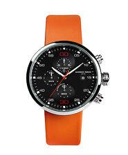 Giorgio Fedon 1919 SPEED TIMER II Silver/Orange Watch GFAY002