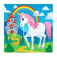 Novità uniocorn & arcobaleno per bambini Luce Interruttore Coperchio Adesivo Vinile Pelle Decalcomania
