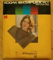 "Kodak Ektaflex PCT Paper 5 1/8"" x 7 1/4"" 25 Sheets  Sealed Expired AS IS"