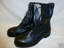 G.I. Ripple Sole Combat Boot Leather Boots Vietnam Era 9 Regular NEW Old Stock