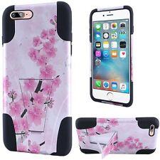 For Apple iPhone 7 Plus Design T Kickstand - Sakura Cherry Blossom Exotic Floral