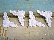 SHABBY N CHIC CORNERS (4) * FURNITURE APPLIQUES / ONLAYS