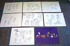 Atom Ant Show Animators' Model Sheets Hanna Barbera Art Reference Guide