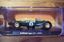 1/43 RBA 1965 LOTUS TYPE 33 JIM CLARK 1965 WORLD CHAMPION