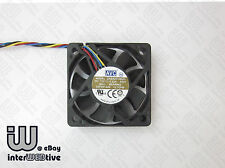 AVC 50mm 5CM 5010 4pin PWM Dual Ball Bearing computer case fan 0.22A ITX 6600PRM