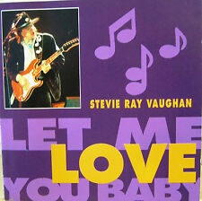 "STEVIE RAY VAUGHAN ""LET ME LOVE YOU BABY""  rare cd mint"