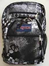 NWT JANSPORT Big Student Backpack Book Bag Black Print Boys Girls School NEW