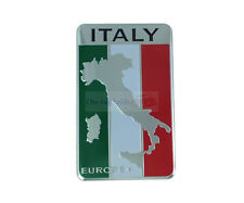 IT Italy flag Aluminium Badge Decal Emblem Badge Sticker For Luxury Car