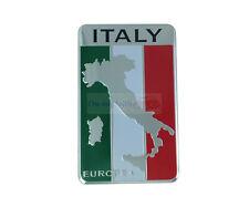 IT Italy flag Aluminium Badge Decal Emblem Badge Sticker For Luxury Car
