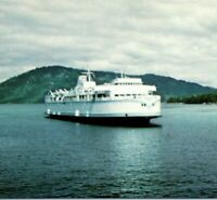B.C. Ferry The Gulf Islands Victoria British Columbia Vintage Postcard
