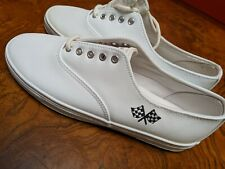 Indy 2 Nascar Cup Series Shoes White Size Nine Womens
