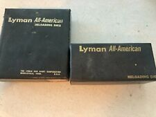 Vintage Lyman A-A 38/357 Mag carbide 3 die set Plus additional 38/357 Fl die