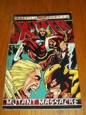 X-Men Mutant Massacre by Chris Claremont (Paperback, 1996)< 9780785102243