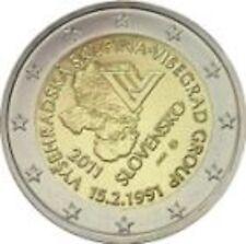 """2 €  Slowakei 2011  """" 20 Jahre Visegrad """""""