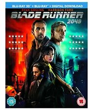 Blade Runner 2049 3d Blu-ray Harrison Ford Ryan Gosling 5051124493372