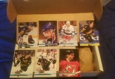 Assorted Box Lot 1993-1994 NHL Hockey Stadium Club Cards Unsorted Hundreds !!!