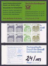 Bund Mi.Nr. 913 / 1038 / 1040  C/D MH 24 m B&S postfrisch Jahrgang 1987