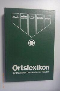 Ortslexikon der Deutschen Demokratischen Republik DDR GDR 1974 / Heinz Adomeit