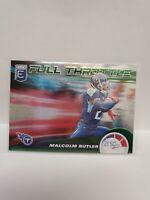 2020 Donruss Elite Football Malcolm Butler Full Throttle Insert Green 18