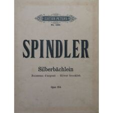 SPINDLER Fritz Silverbächlein Piano partition sheet music score