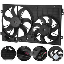 Radiator Cooling Dual Fan For VW Beetle Golf Jetta Rabbit Assembly 2.0L 2.5L