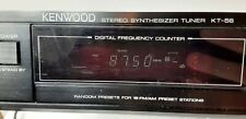 Kenwood Stereo Synthesizer Tuner Kt-56