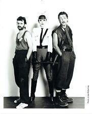 PHOTO LINDA McCARTNEY - RINGO STAR & PAUL MAC CARTNEY -- RARE