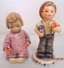 "Hummel Goebel Figurine ""Pocketful of Posie"" - Hum 2174/B - Boy Holding Flowers"