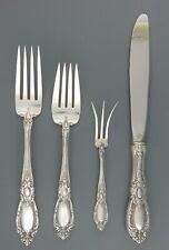 4 Pieces Towle Sterling Silver KING RICHARD Dinner Salad Lemon Fork  Knife