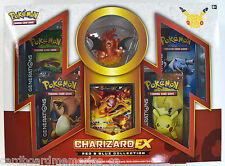 Pokemon Red & Blue Charizard EX Factory Sealed Collection Box