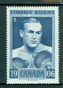Boxing 1906 Champion – Tommy Burns – Cz. Slania Engraved - Label