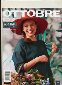 Ottobre Design Woman 2 2021 mit allen Schnittmustern