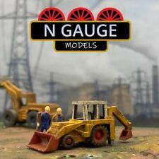 More details for n scale gauge 1:148 early backhoe loader roadworks construction 1:160 excavator